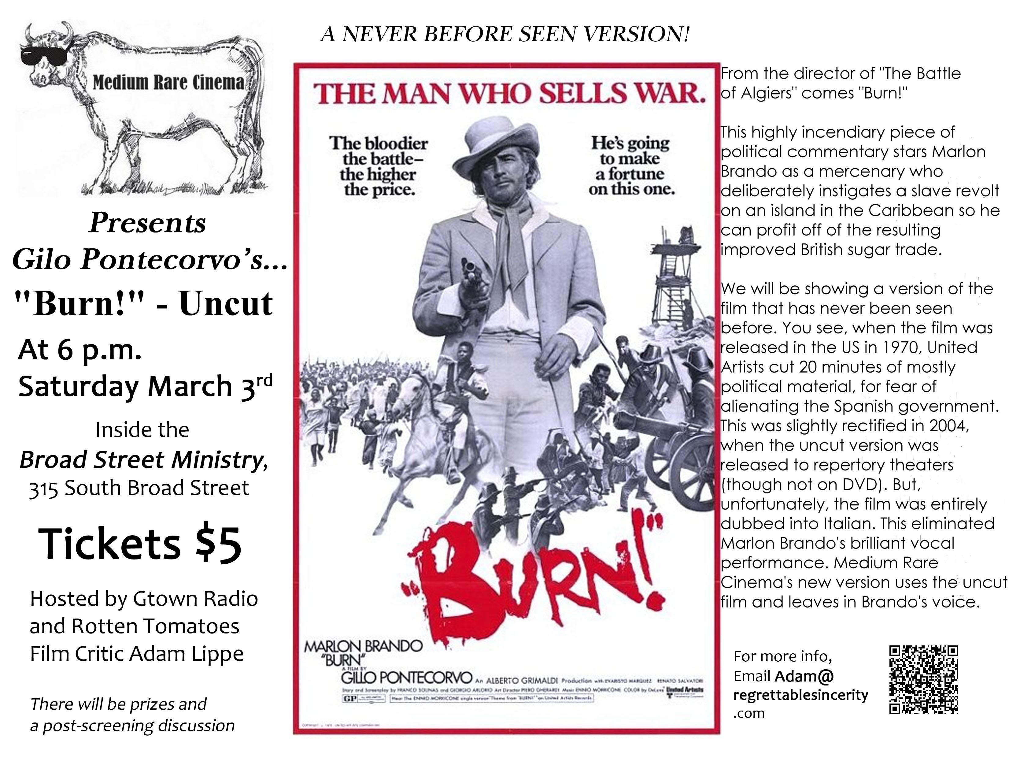 burn 1969 cast